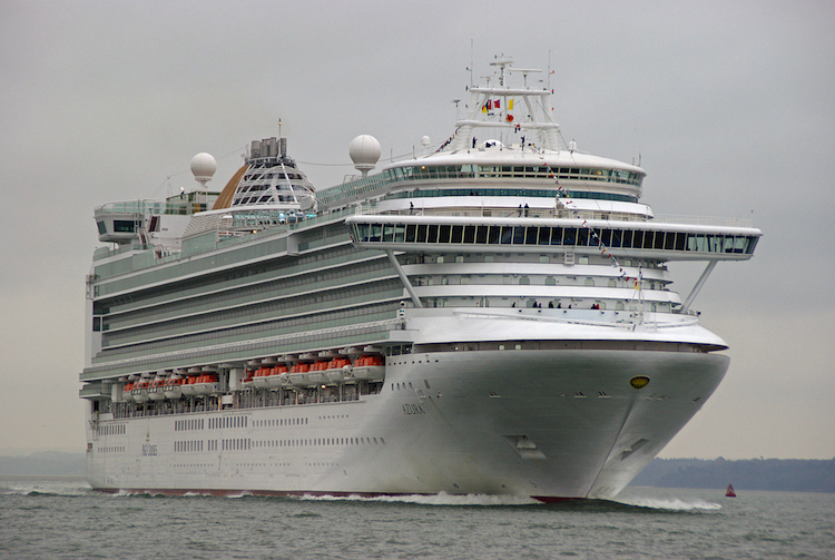 Azura Belonging to P&O Cruises