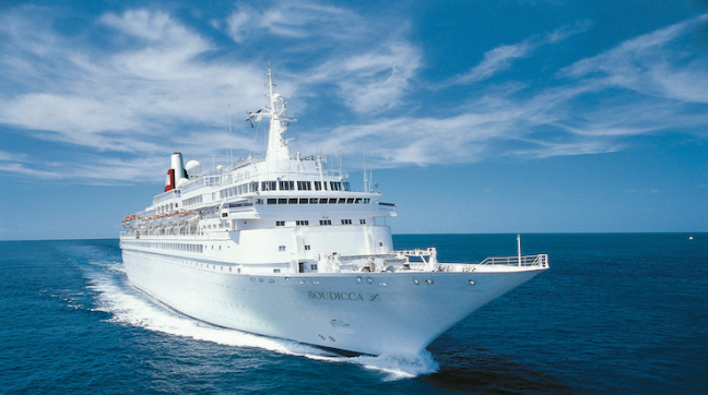Fred Olsen Cruise Ship: The Boudicca