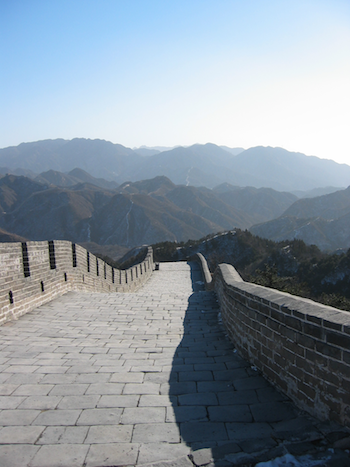 The Very Impressive Great  Wall of China can be part of your Asia Cruise Excursion