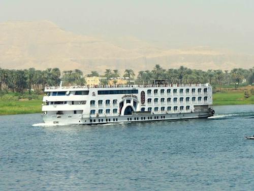 Here A Nile River Cruise Ship Typically Takes 100 People On Board