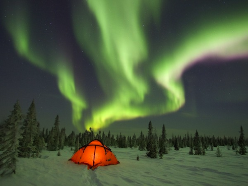 The Northern Lights. Image credit: Thundafunda.com.
