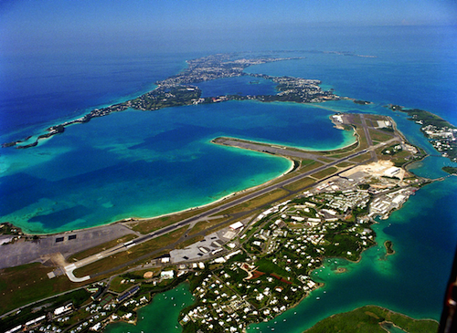 Bermuda viewed from Above