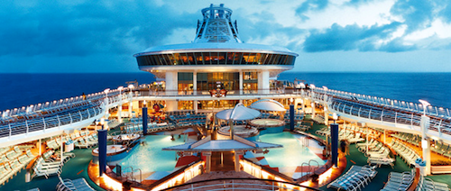 Luxury Cruising has its benefits