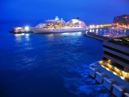 Cruise Ship in Monaco