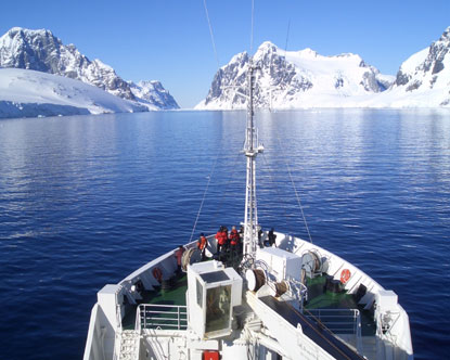 A true expedition cruise!